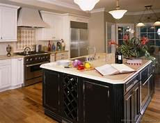 black distressed kitchen island pictures of kitchens traditional white kitchen