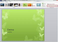 Theme Microsoft Powerpoint Replacing Background Graphics Of A Powerpoint Theme