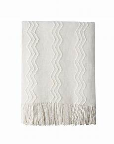 bourina throw blanket textured solid soft for sofa