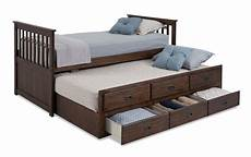 chadwick captain bed with trundle bobs