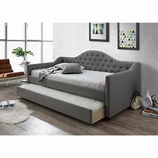 Trundle Sofa Bed 3d Image by Modern Single Sofa Bed With Trundle Grey Yes Furniture