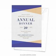 Professional Invitations Annual Dinner Annual Client Appreciation Dinner Business