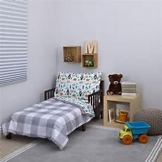 s 174 woodland boy 4 toddler bedding set