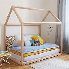 wooden house bed by grattify notonthehighstreet
