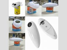 One Touch Automatic Electric Tin Can Opener Bottle Tin Can
