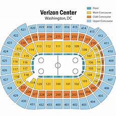 Washington Capitals Seating Chart With Rows Breakdown Of The Capital One Arena Seating Chart
