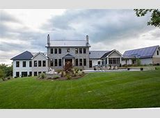 $3.9 Million Newly Built Contemporary Farmhouse Style Mansion In Penn Laird, VA   Homes of the Rich