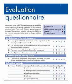 Training Evaluation Questions Free 15 Sample Training Evaluation Forms In Pdf