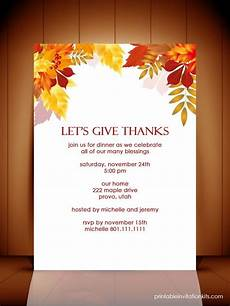 thanksgiving card template word free thanksgiving invitation templates word
