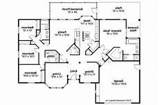 Mansion Floor Plans Mediterranean House Plans Bryant 11 024 Associated Designs