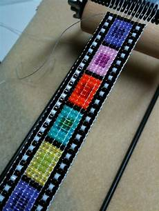 sleepless beader beading on a loom