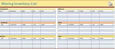 Moving Box Inventory List Template 19 Free Moving Inventory List Templates Ms Office Documents