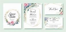 wedding invitation card template wedding invitation card template vector premium