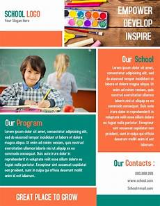 School Brochure Templates Awesome School Brochure Templates Amp Designs Postermywall
