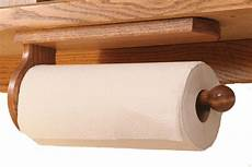 cabinet mount paper towel holder