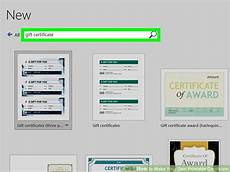 Make Your Own Printable Certificate 3 Ways To Make Your Own Printable Certificate Wikihow