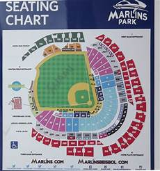 Marlins Park Stadium Seating Chart Marlins Park Page