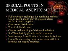 Medical Asepsis Medical Asepsis