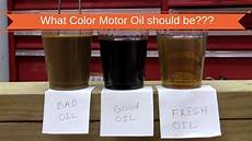 Synthetic Oil Color Chart Why Motor Oil Changes Color And How To Tell What It Means
