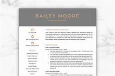 Fancy Cv Templates Cv Template Resume Bailey Resume Templates Creative