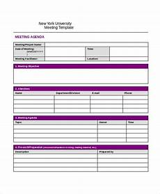 Minutes Agenda Template Meeting Minutes Template 13 Free Word Pdf Document