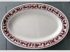 1980s Yet Wah Restaurant Oval Platter by Buffalo China   eBay