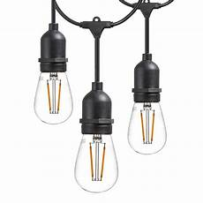 Dimmable Led Work Light Outdoor Led Filament Light Weatherproof Patio String