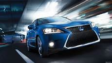 Of Lights 2018 Ct 2017 Lexus Ct Fsport Blue Color On Road In Night Lights