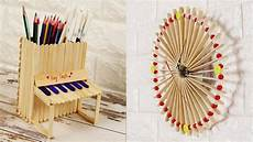 4 diy popsicle stick craft compilation craft ideas