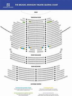 Brooks Atkinson Theatre Seating Chart Brooks Atkinson Theatre With Images Theatre Theater