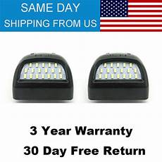 1994 Chevy Silverado License Plate Light New 2x Led License Plate Lights Lamps Fit For Chevy