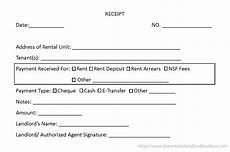 Annual Rent Receipt Template by Rent Receipt Template Ontario Printable Receipt Template