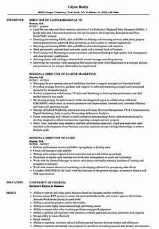 Regional Sales Director Job Description Director Of Sales Job Description Resume Slideshare