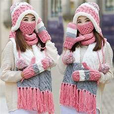 Designer Hat And Scarf Set Women S Woman Winter Hat And Gloves Sets Imitation Wool Fashion