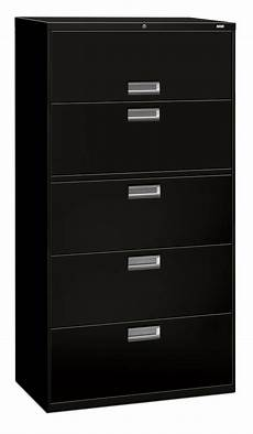 hon 5 drawer office filing cabinet 600 series lateral