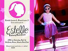 7 Birthday Program Estelle S Runway Rundown 7th Birthday Party I Try Diy
