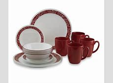 Corelle Livingware 16 Piece Dinnerware Set  Bandhani