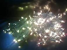 Led Vs Clear Christmas Lights Led Warm White Left Vs Incandescent Right Youtube