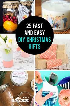 weihnachtsgeschenke diy 25 easy gifts you can make in 15