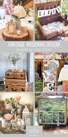 shabby chic vintage wedding decor ideas shabby chic