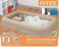 intex travel bed child airbed toddler
