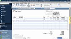 How To Create An Estimate How To Turn A Job Estimate Into An Invoice In Quickbooks