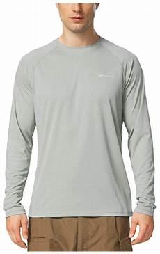 baleaf mens upf 50 sleeve pouch baleaf s upf 50 sun protection shirts sleeve dri