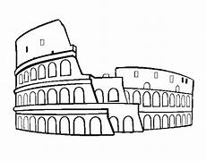 colosseum coloring pages search coliseo romano
