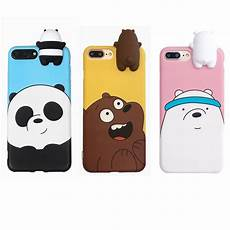 We Bare Bears Wallpaper Iphone 7 by We Are Bare Bears Doll 3d Peep Iphone 5 6 6s 7 8 Plus