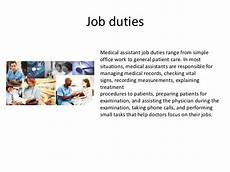 Jobs In Medical Assistant Field Careers In Medical Assisting