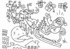 Ausmalbild Weihnachtsmann Mit Schlitten 20 Ausmalbilder Zu Weihnachten Erfreuen Sie Ihre Kinder