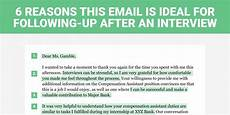 Should I Call After An Interview The Perfect Interview Follow Up Letter Business Insider