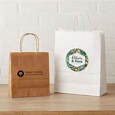 Designer Paper Bags For Sale Custom Kraft Paper Bags Brown Amp White Vistaprint