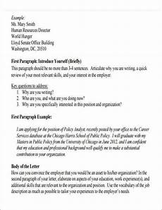 Introduction Letters For Jobs Free 5 Employment Introduction Letter Samples In Pdf Ms